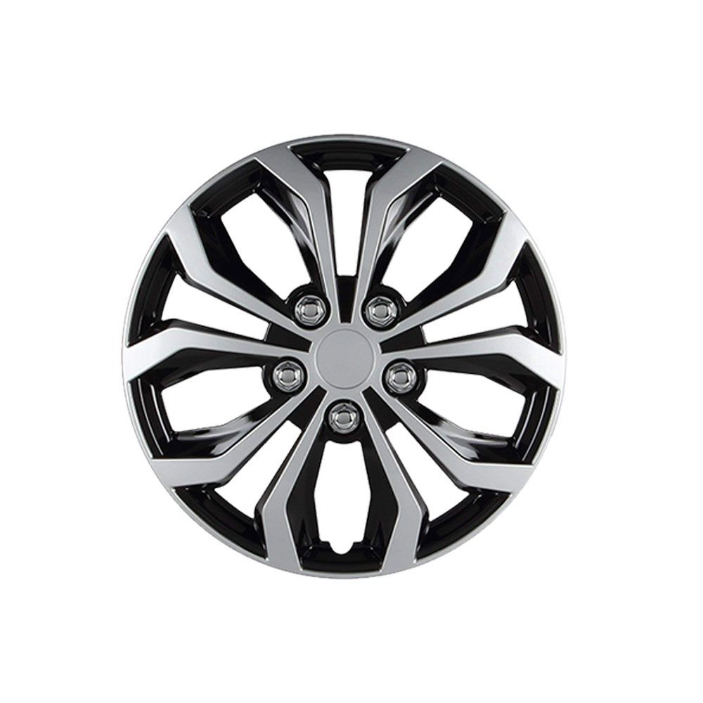 Black Wheel Cover – 14 inch Matte Black Hubcap